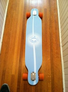My latest custom board shape! skateboarding longboarding longboards