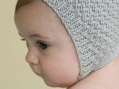 "Vintage-Style Baby Bonnet (Free Pattern) - Craftfoxes ""On the free pattern page, replace all instances of with SSK. The book lists the correct definition of but the free pattern does not. Baby Bonnet Pattern Free, Crochet Baby Bonnet, Baby Hat Patterns, Baby Knitting Patterns, Free Pattern, Knitting Tutorials, Knitting Ideas, Stitch Patterns, Crochet Patterns"