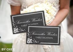 Printable wedding place card template  Vintage Chalkboard by Oxee, $7.00