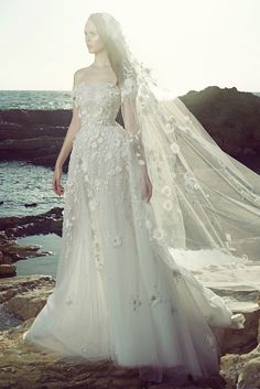 """A beautiful gown to say """"I Do"""" by ZUHAIR MURAD. #bride #bridetobe #weddingdress #TheBridalCircle"""