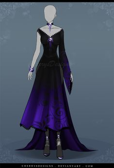 (closed) Auction Adopt - Outfit 559 by CherrysDesigns