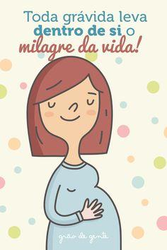 Toda grávida é prova de que gerar uma vida dentro de si é a maior forma de amor do mundo! #gravidez #maternidade