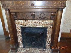 Victorian Fireplace Hearth Tiles Home Fireplaces