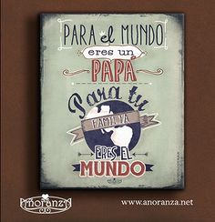 Adquiérelos con nuestros distribuidores o mándanosun correo y dile a tu papá lo mucho que lo quieres!! recuerdosqueunen@anoranza.net anoranza.net Fathers Day Crafts, Happy Fathers Day, Dad Day, Mom And Dad, Daddy Gifts, Gifts For Dad, Father's Day Diy, Diy And Crafts, Projects To Try