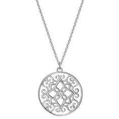 The Silver Florentina Pendant #brilliantearth
