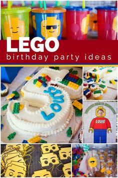 Turning five is awesome, but especially when your mom and dad throw you an over-the-top LEGO birthday party to celebrate! Katy McKinley, of Handmade Escapade, shares how she and her husband built an epic party for their son, starting with a cool pop-art inspired LEGO... #birthday #featured #kids