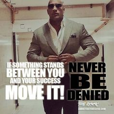 Dwayne Johnson Inspirational Picture http://addicted2success.com/quotes/24-dwayne-johnson-motivational-picture-quotes/