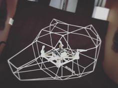 A flying bear head drone! Wireframe Design, Bear Head, 3d Printing, Board, Instagram Posts, How To Make, Diy, Impression 3d, Bricolage