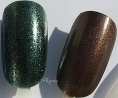 remove troughs..nd difficulties...bid dem away....clkection duo fron urban holiday nail colours..