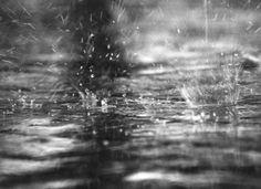 Días tristes de lluvia.