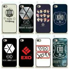 Exo phone case xoxo case is amazing (navy blue one) and the exo from Exo Phone Case, Kpop Phone Cases, Iphone Cases, Ipod, Exo Merch, Kpop Outfits, Kpop Fashion, Shinee, Baekhyun