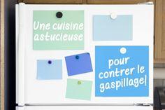 A sensible kitchen to control waste!