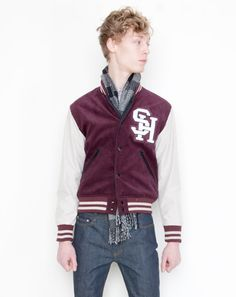 So excited the Letterman Jacket is making a comeback! The best part? Now, they are going to be cut to actually FIT us skinny guys!
