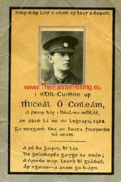 pics michael collins - Google Search Roisin Dubh, Ireland 1916, Irish Independence, Easter Rising, Michael Collins, Ireland Homes, My Heritage, Historical Photos, Ancestry