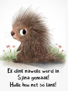 Goeie Nag, Goeie More, Afrikaans, Teddy Bear, Words, Funny, Van, Animals, Phone