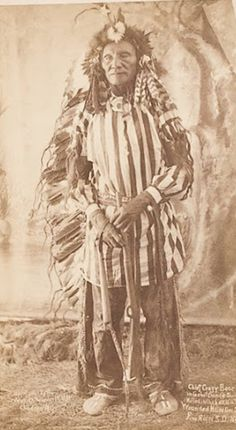 Crazy Bear - Oglala Lakota 1890