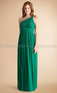 Green Long Bridesmaid Dresses