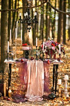 Ежевичная осень: стилизованная фотосессия - The Bride