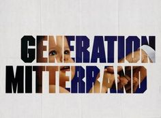 affiche présidentielle 1988 Mitterrand