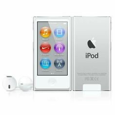 Best Online Shopping Store in UAE - Login www.awasonline.com  Apple iPod NANO 7th Gen. (16 GB, Audio/Video Player, Silver)  Brand : Apple  Brand : Apple  iPod NANO  Height: 3.01 inches (76.5 mm)  Width: 1.56 inches (39.6 mm)  True volume: 0.95 cu. inch (15,537 cu. mm)  Capacity: 16GB  Wireless: Bluetooth, Nike support  Fast delivery, Free shipping *, Genuine products & Loyalty points