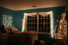 i really want christmas lights in my room