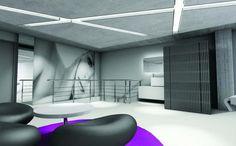 interior design - new spa space in galerie de beaute in Athens
