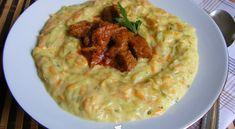 Cukkini-répa főzelék   Receptkirály.hu Lidl, Guacamole, Paleo, Mexican, Lunch, Healthy Recipes, Vegan, Ethnic Recipes, Food
