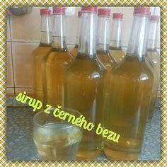 Sirup z černého bezu Wine, Drinks, Bottle, Drinking, Beverages, Flask, Drink, Jars, Beverage