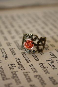 Autumn Fairy Tale Ring. $12.00, via Etsy.