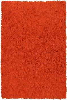 "Amazon.com: Orange 30x50""' Shagadelic Chenille Twist Rug: Home & Kitchen"