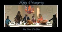 Hilarious STAR WARS Action Figure Thanksgiving Scenes — GeekTyrant