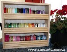 Image result for ribbon storage