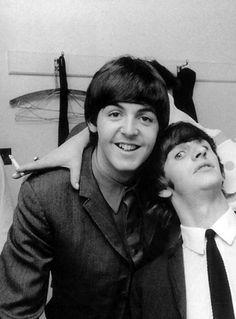 Paul and Ringo..Ringo u are too funny!!!