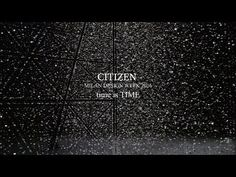 """Time in art saved to Tsuyoshi Tane for Citizen Tsuyoshi Tane from DGT Architects for Citizen - """"time is TIME"""", Salone del Mobile, Milano, 2016"""