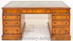 Partners Desk, Corner Desk, Blinds, Victorian, The Originals, Furniture, Home Decor, Corner Table, Decoration Home