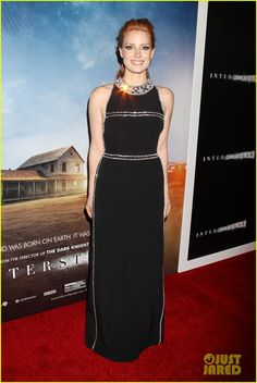 Jessica Chastain & Anne Hathaway Turn Heads at 'Interstellar' NYC Premiere | jessica chastain interstellar nyc premiere 01 - Photo