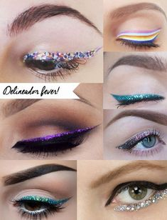 Maquiagem para o carnaval put on a happy face идеи макияжа, Glitter Eyeliner, Glitter Hair, Red Glitter, Glitter Makeup, Glitter Uggs, Glitter Slime, Glitter Party, Glitter Dress, Sparkles Glitter