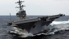 Aircraft Carrier USS George H Bush