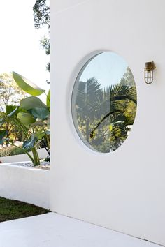 The Hinterland Hideaway - House 10 Facade White House Round Windows
