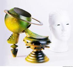 Nibiru Iskren Lozanov  Part of the 'Nibiru' accessories collection, 2015.  | virtualshoemuseum.com