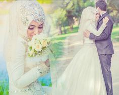 Beautiful couple, Insha'allah let them last forever  ♥.