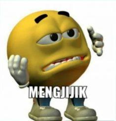 Cute Memes, Funny Memes, Meme Stickers, Cartoon Jokes, All The Things Meme, Cat Icon, Cute Cartoon Images, Mood Pics, Stupid Memes