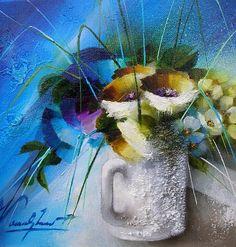 Raymond Poulet Painting, Art, China Painting, Painters, Chicken, Painting Art, Paintings, Painted Canvas, Drawings