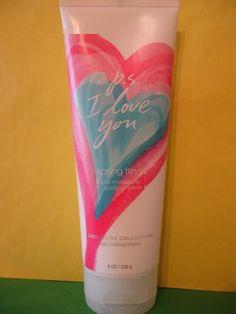 Bath & Body Works P.S I Love You Spring Fling Body Cream Full Size
