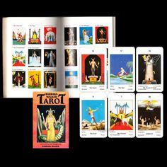 1986 ORIGINAL TAROT SET BARBARA WALKER TAROT Deck & BUCH 78 KARTEN