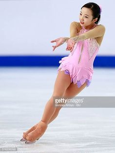 Marin Honda from Japan skates during the Ladie's short program of the ISU World Junior Figure Skating Championships 2016 at The Fonix Arenaon March 2016 in Debrecen, Hungary. Get premium, high resolution news photos at Getty Images Ice Skating, Figure Skating, Sport Gymnastics, Uzzlang Girl, Sport Shorts, Female Athletes, Sport Girl, Beautiful Asian Girls, Sexy Body