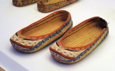 Embroider shoes. Secrets of the Silk Road Exhibition.