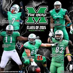 MU 2015 NFL Draft: @FrosBeforeHoes @Chargers   @Neville_Hewitt☞Miami Dolphins   @_SwaggDee Patriots   @Jasperse60 Bengals #HerdNation