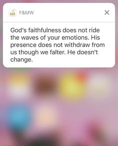 Download the Faith & Mental Wellness app FREE for notifications and more =)