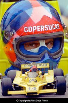 f1 Emerson Fittipaldi on Copersucar
